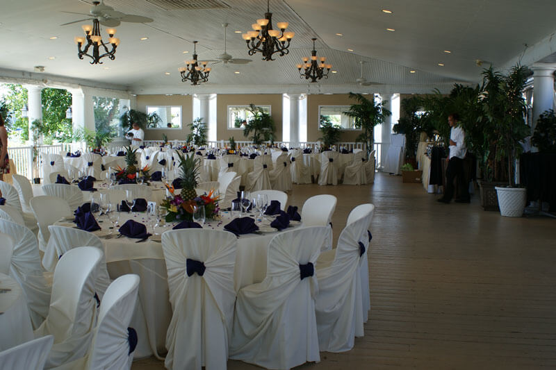 Weddings in the Snapper Inn Pavilion
